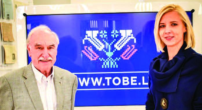 Renginyje dalyvavo Lietuvių Fondo atstovas Lietuvoje, valdybos narys Leonas Narbutis.