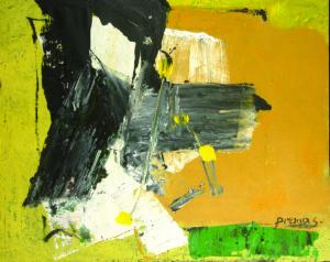 Pranas Gailius. Abstrakcija.