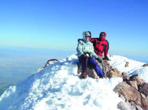 Mokslininkų šeimą pakerėjo Amerikos gamta. Ramunė ir jos vyras Arūnas pasiekę gražiausio Californijos Shasta kalno viršūnę, kuri visuomet padengta ledo ir sniego.