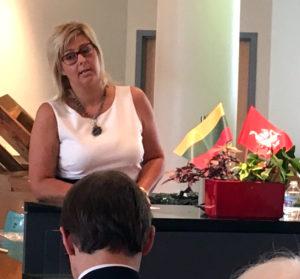 JAV LB Kultūros tarybos pirmininkė Austėja Sruoga.