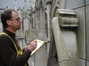 St. Patrick katedros apžiūra.