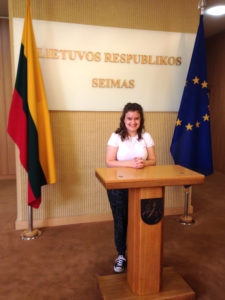Lietuvos Respublikos Seime.