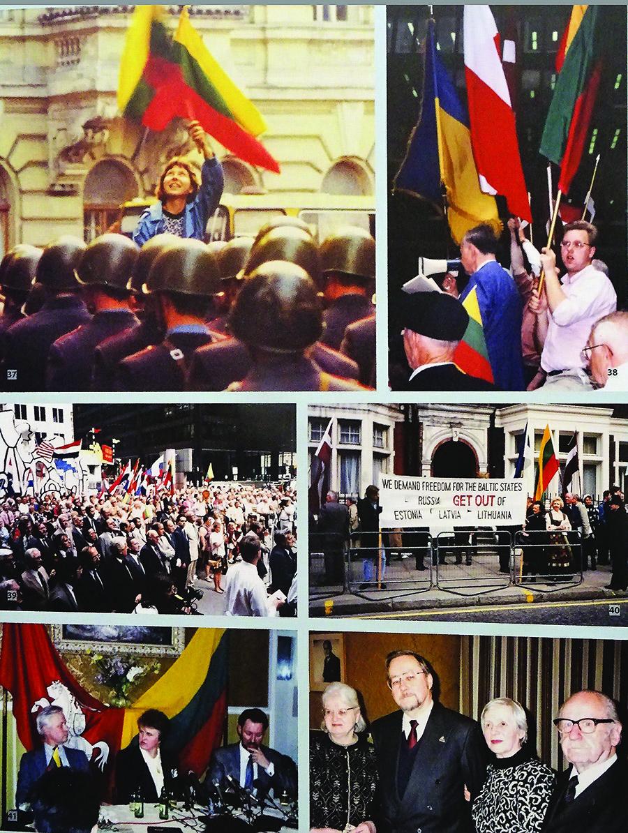 Parodos stenduose – išeivijos kovos už laisvą Lietuvą akimirkos.