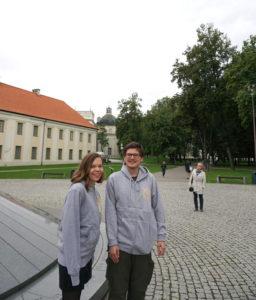 Augustinas ir Aistė Žemaičiai Amerikos Rytų pakrantėje ieškojo lietuviško paveldo.