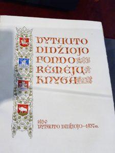 Rėmėjų knyga.