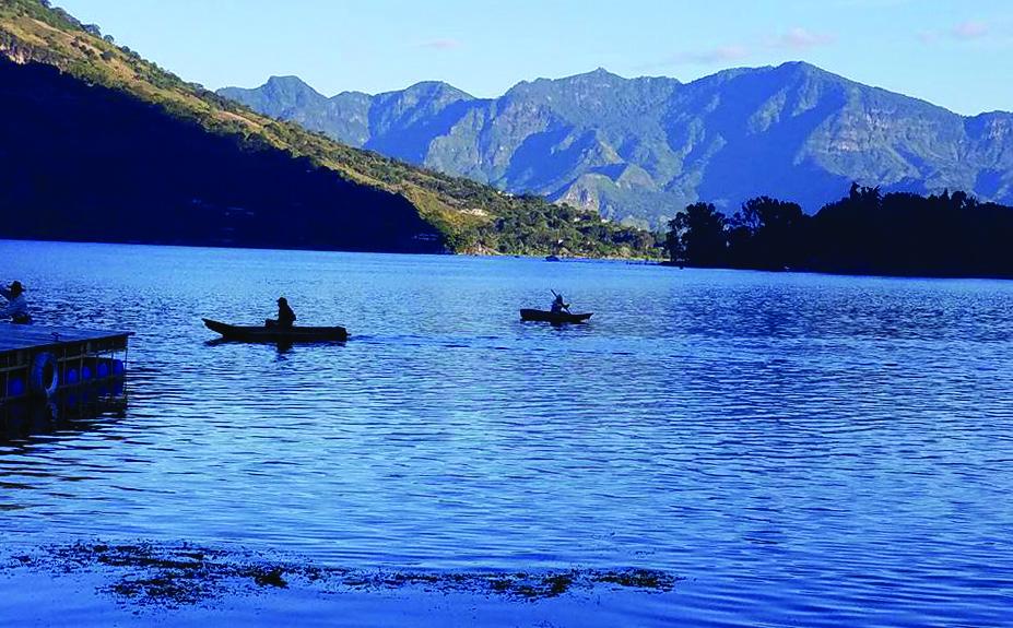 Atitlano ežeras – viena iš daugelio nuostabių Gvatemalos vietų.