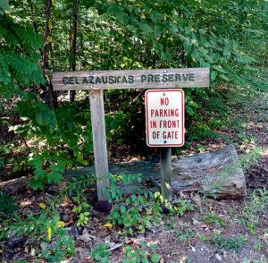 """New Hampshire valstijoje """"Tikslas – Amerika"""" komanda rado niekur žemėlapiuose neminimą Gelazauskas rezervatą."""
