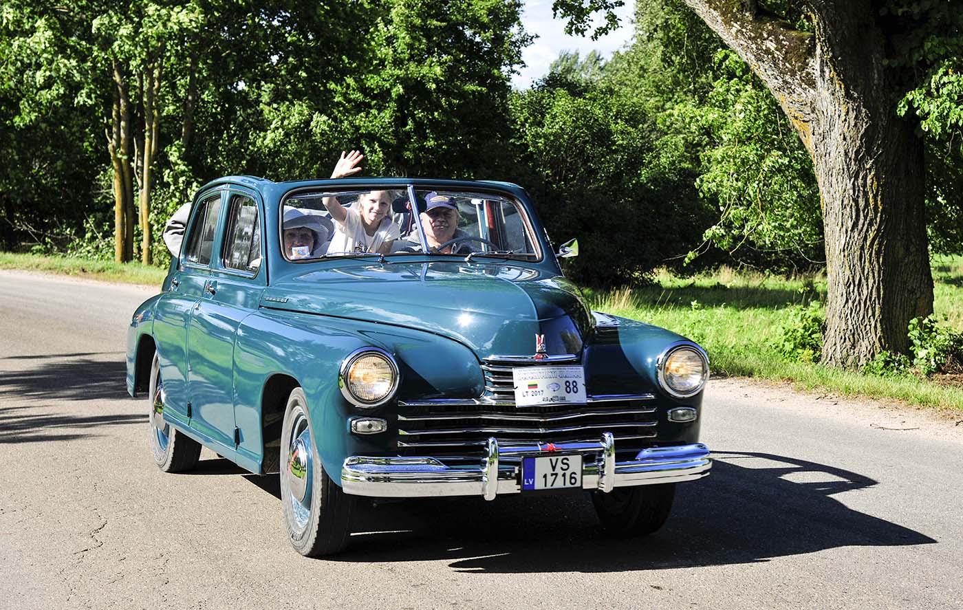 """Geriausias sovietinis automobilis – """"GAZ M-20 Pobeda"""", 1950 m."""