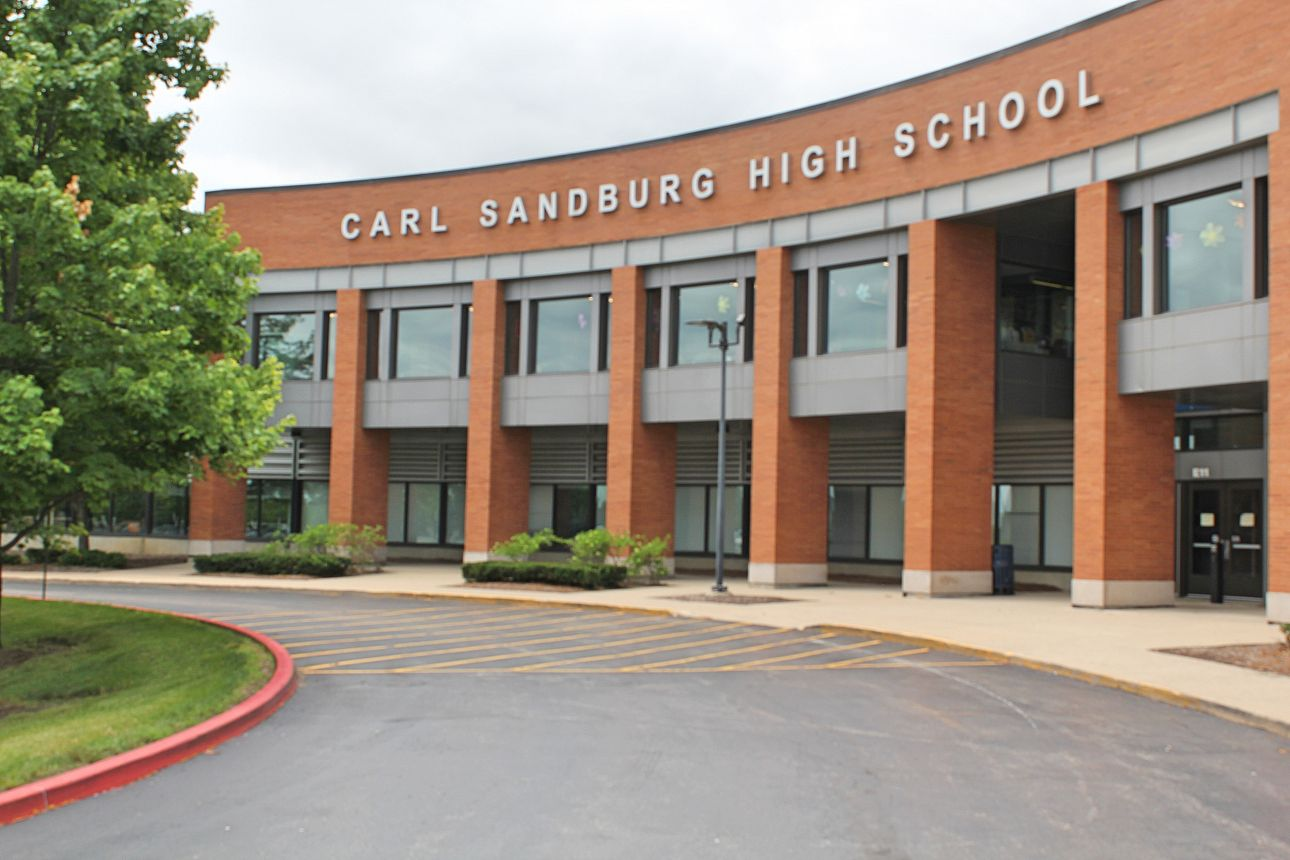 Carl Sandburg High School.