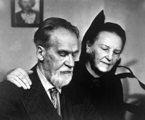 Mykolas ir Bronislava Biržiškos.