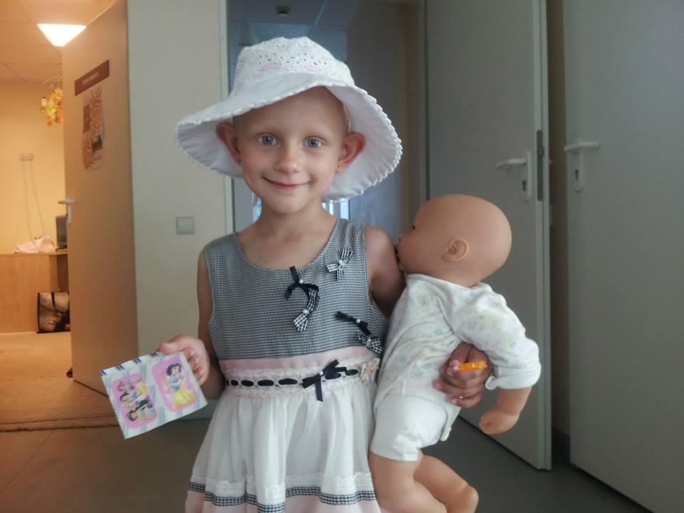 Meilė ir rūpestis padeda mažiesiems ligoniukams kovoti su sunkia liga.