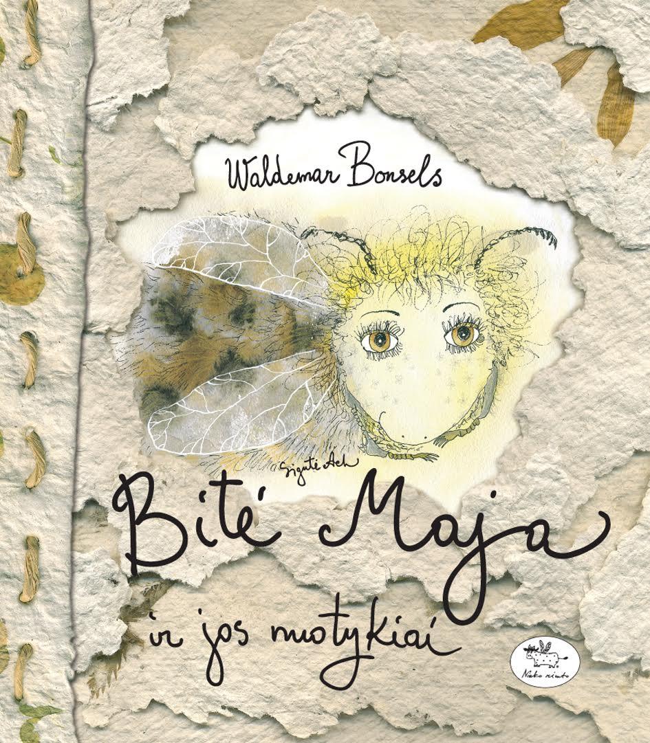 """Tarp dailininkės iliustruotų knygelių – ir """"Bitė Maja""""."""