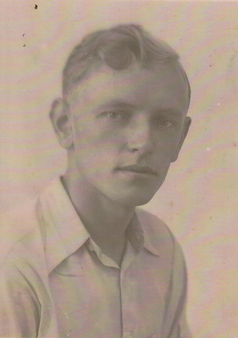 A. Ramanauskas-Vanagas jaunystėje.