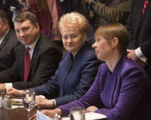 Baltijos šalių prezidentai.