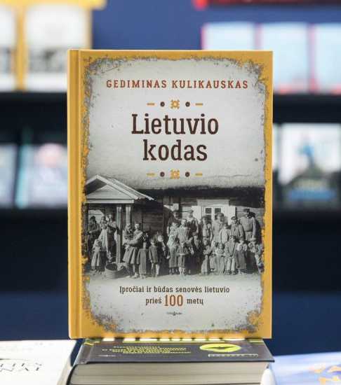 Gedimino Kulikausko knyga.