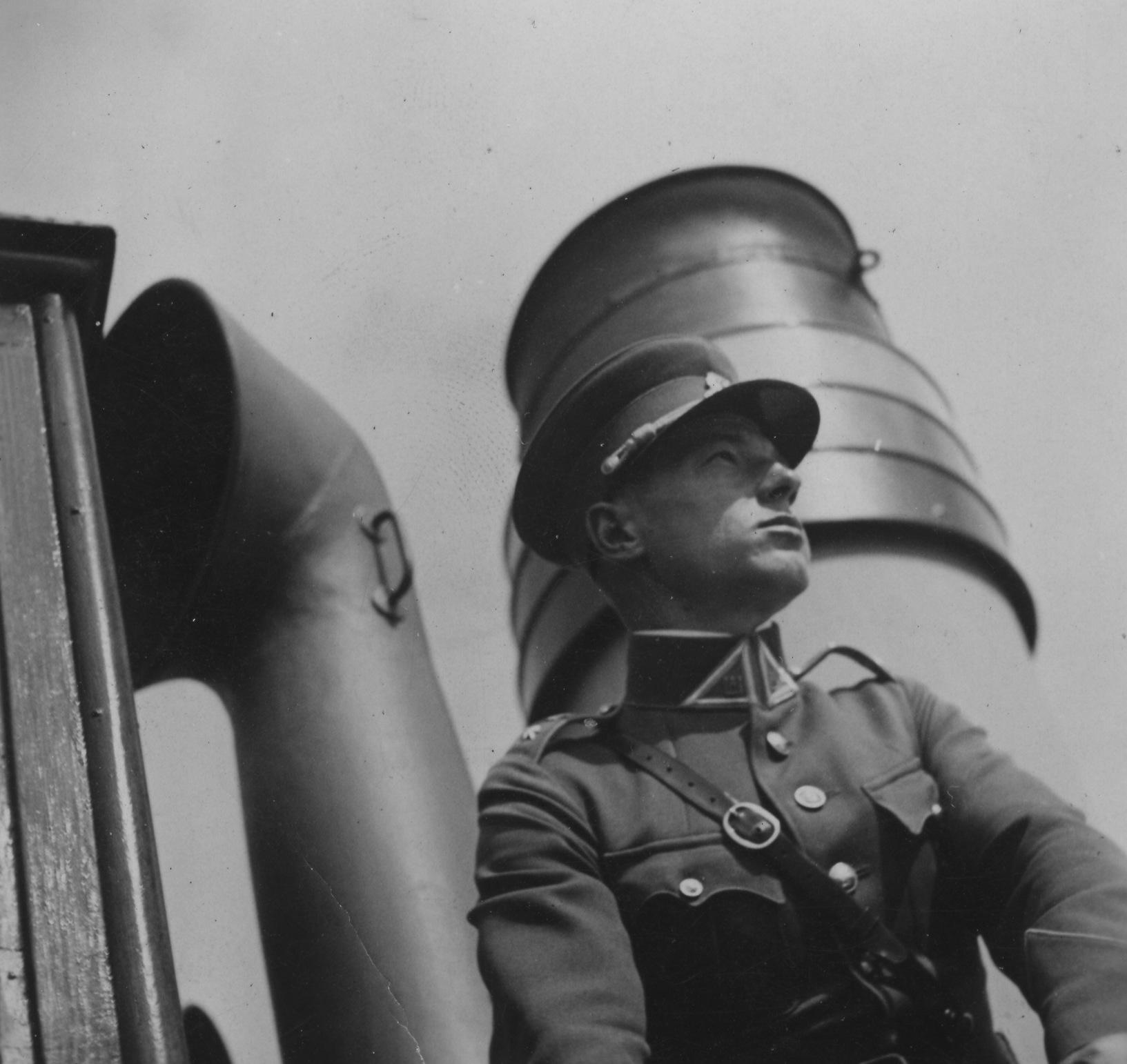 """P. Skardžius kariniame laive """"Prezidentas Smetona"""" 1939 m."""