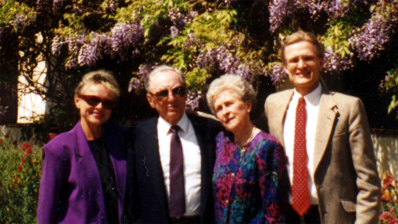 Povilas Skardžius su šeima 1992 m.