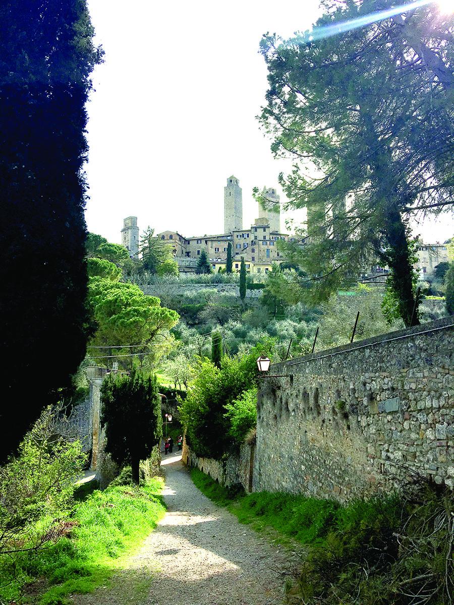 Dar vienas Toscanos perlas – San Giminjano miestas.