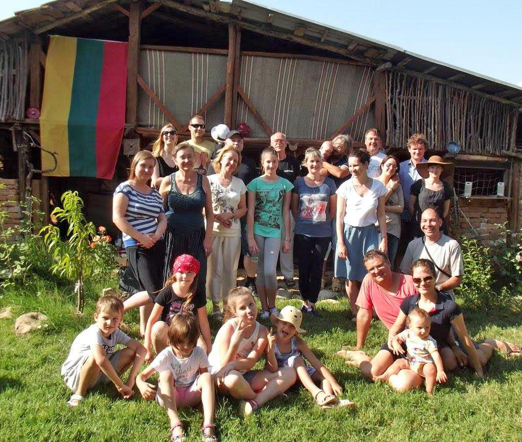 Smagios lietuviškos Joninės Bulgarijos kaime Slavyani.