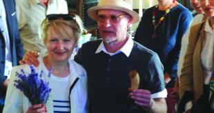 Kultūrų katile Ina Bartkus laviruoja tarp lietuviškų ir amerikietiškų tradicijų. Nuotraukoje kartu su Ray Bartkus.