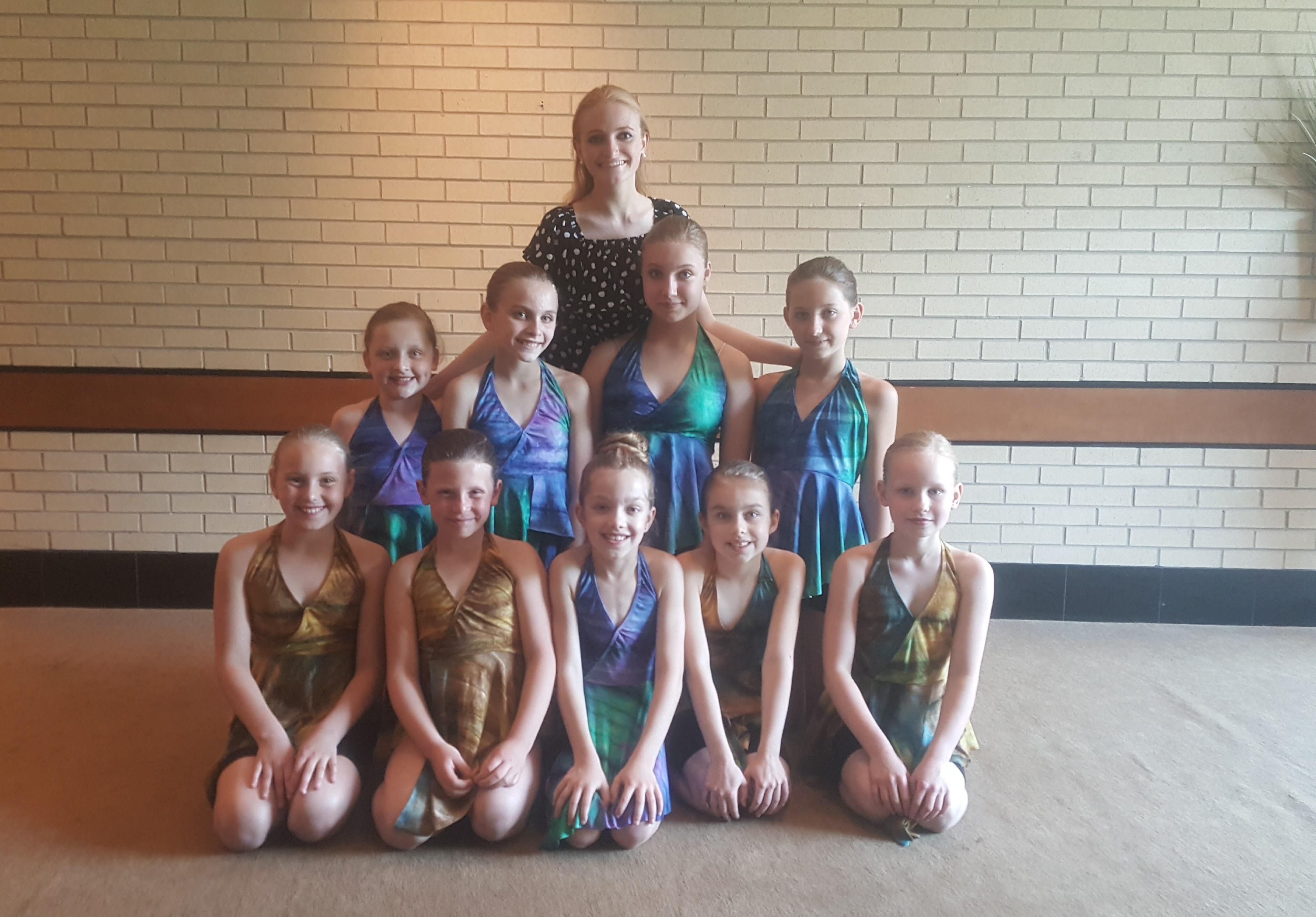 """Austėja jau 2 metus """"Dance Duo"""" šokių studijoje mergaites moko modernaus šokio."""