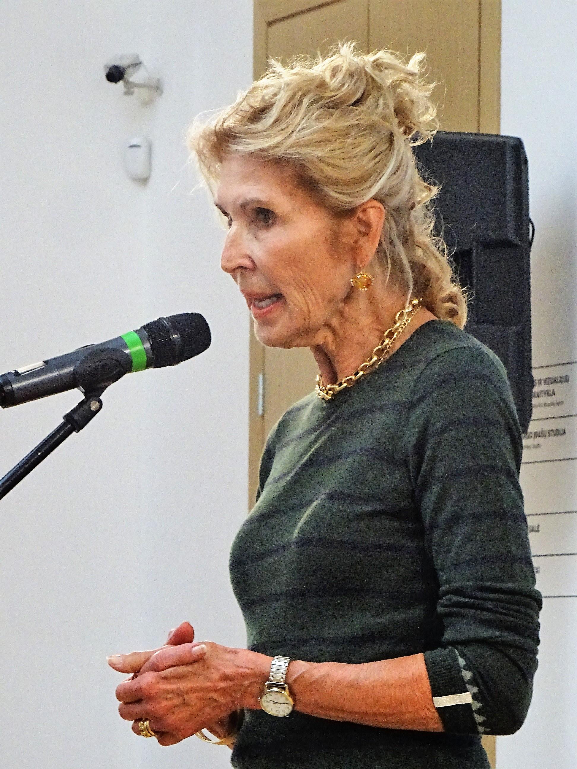 Kalba Jūratė Kazickaitė.