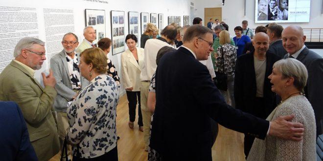 Parodos atidarymas ir konferencija sutraukė daug lankytojų.