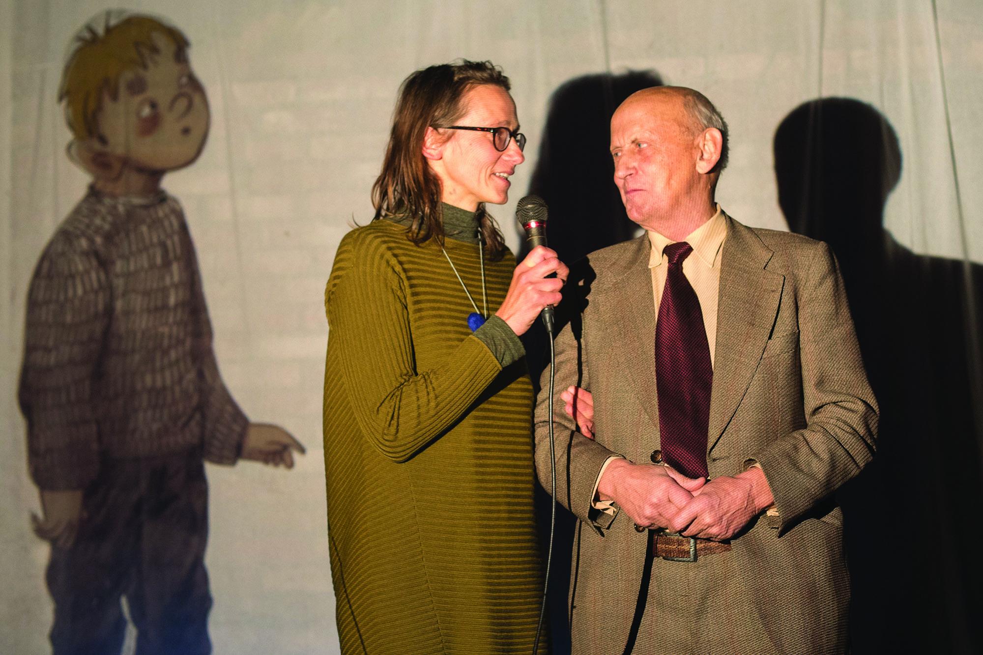 Jurga Viltė su tėčiu Algimantu Stakėnu.