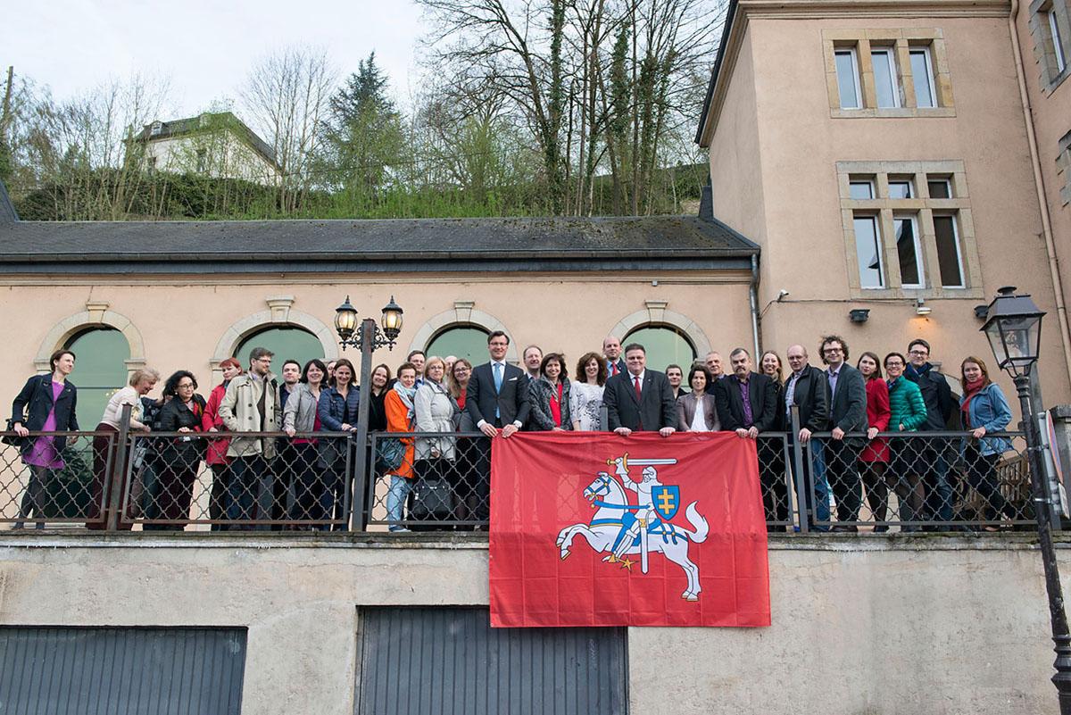 Liuksemburgo Lietuvių Bendruomenė vienija apie 800 lietuvių.