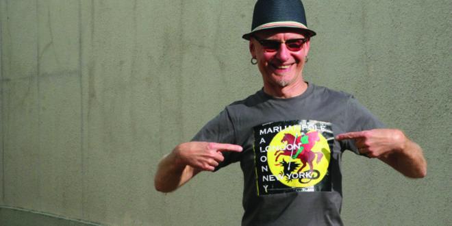 """Dailininkas R. Bartkus – """"Malonny"""" įkvėpėjas ir siela."""