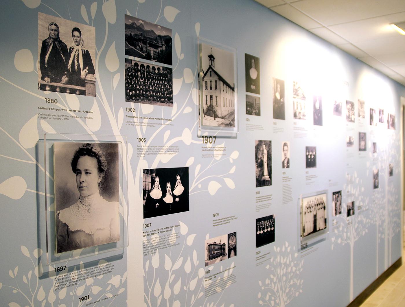 Muziejaus ekspozicija pasakoja apie seselių kazimieriečių veiklą ir kongregacijos steigėją Kazimierą Kaupaitę.