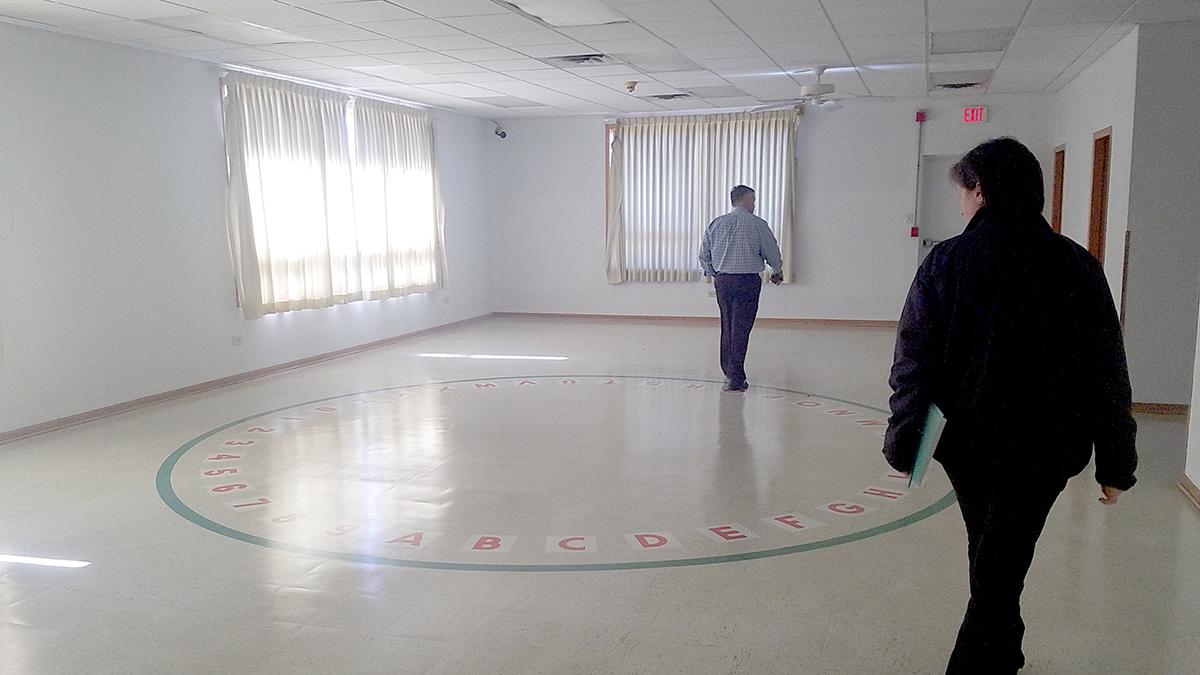 Viena iš keturių šviesių salių bus skirta įvairiems renginiams ir susirinkimams.