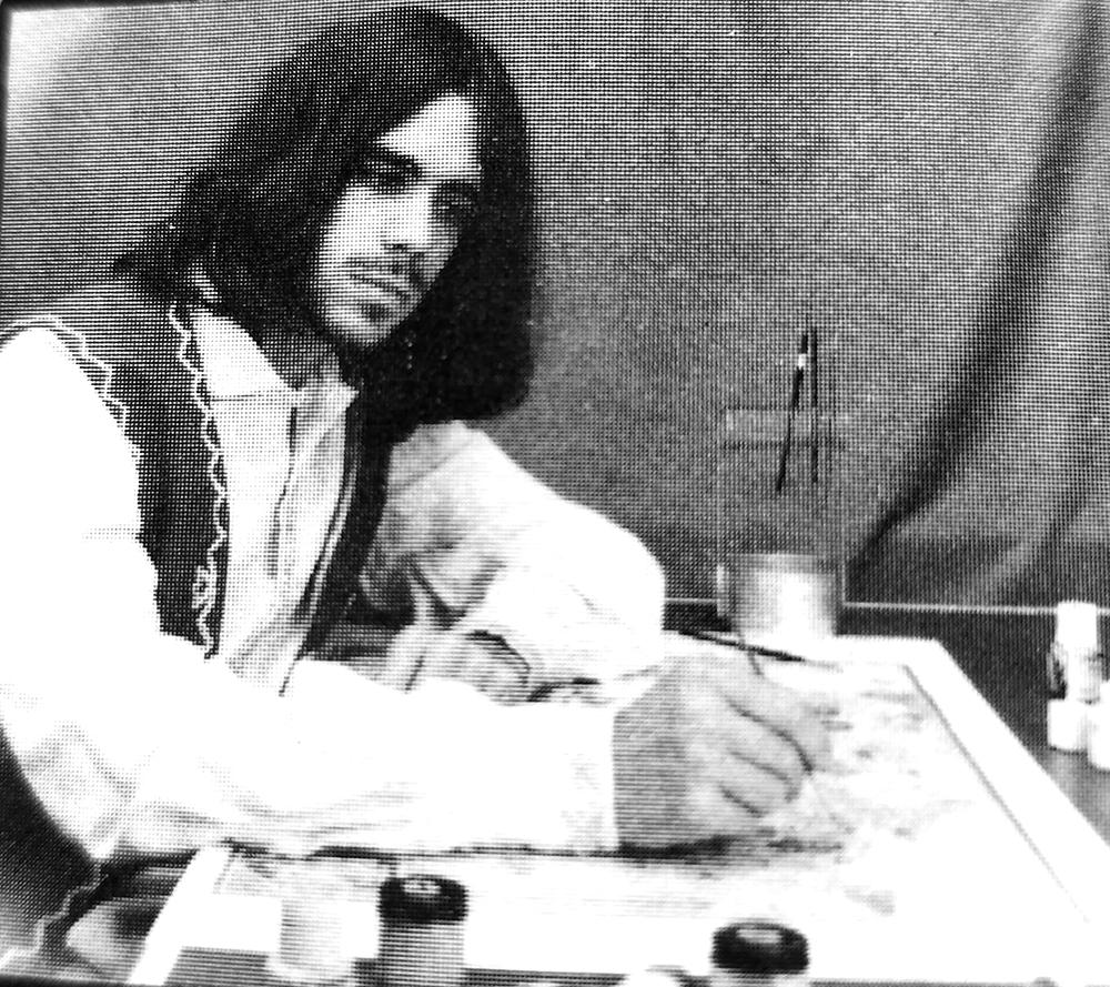 Dana Franzen – savamokslis hipis, įgyvendinęs G. Karoso kūrybines Vyčio idėjas.
