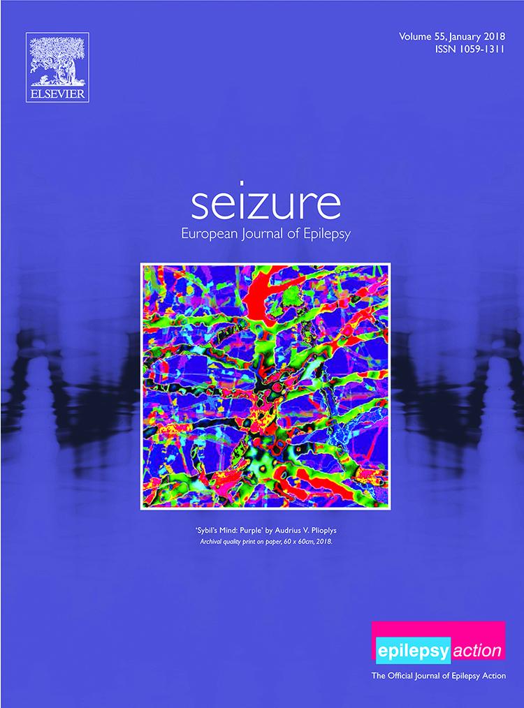 """""""Sybil's Mind: Purple"""" žurnalo Seizure viršelis."""