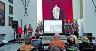 Ekspedicijos dalyviai savo įspūdžiais pasidalino Kauno karo muziejuje.