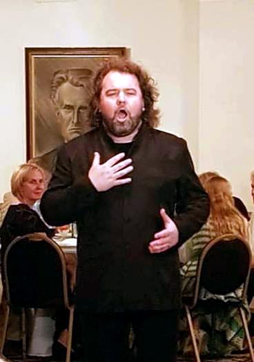 Vakaro metu dainavo solistas Vaidas Vyšniauskas.