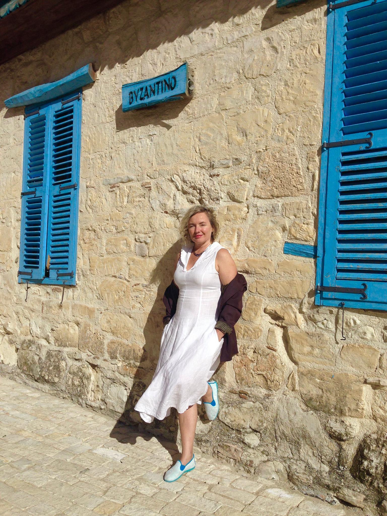 Dalia Staponkutė Kipre – jau kelis dešimtmečius.