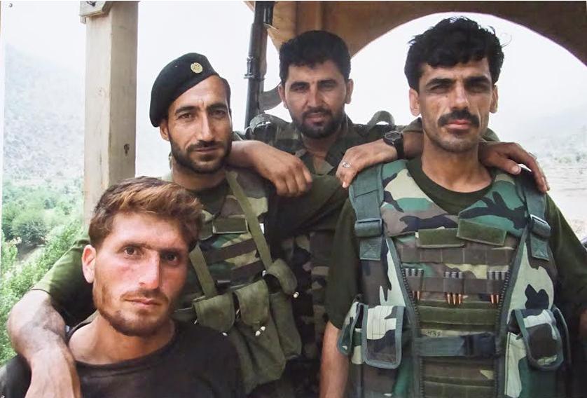 J. Dovydėnas Afganistane lankėsi 11 kartų.