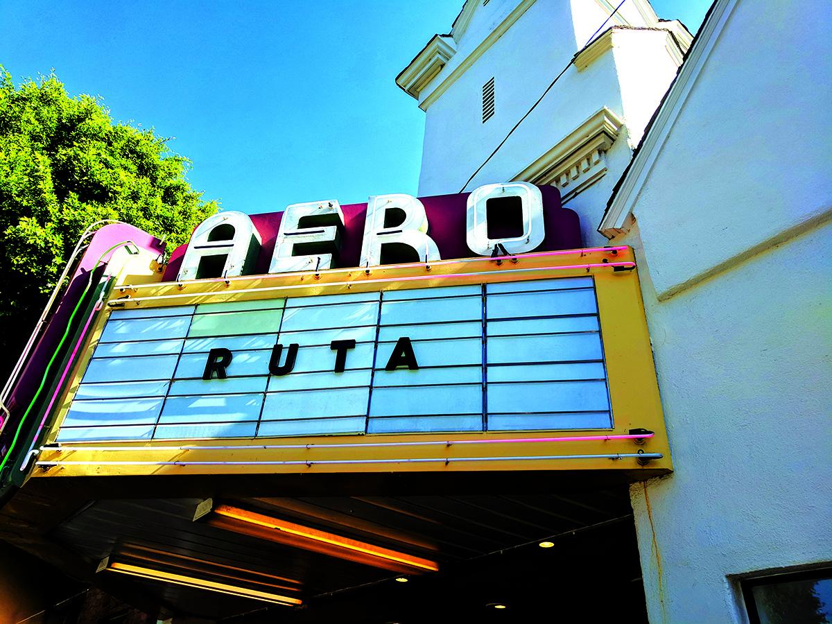 """""""Aero"""" kino teatras Santa Monicoje."""
