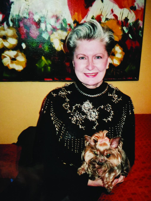 N. Voketaitienė, sulaukusi 75-ojo gimtadienio. Suprantama, kodėl modelių agentūra ją toliau kvietė ir ragino neatsisakyti darbo – fotografuotis reklamoms.