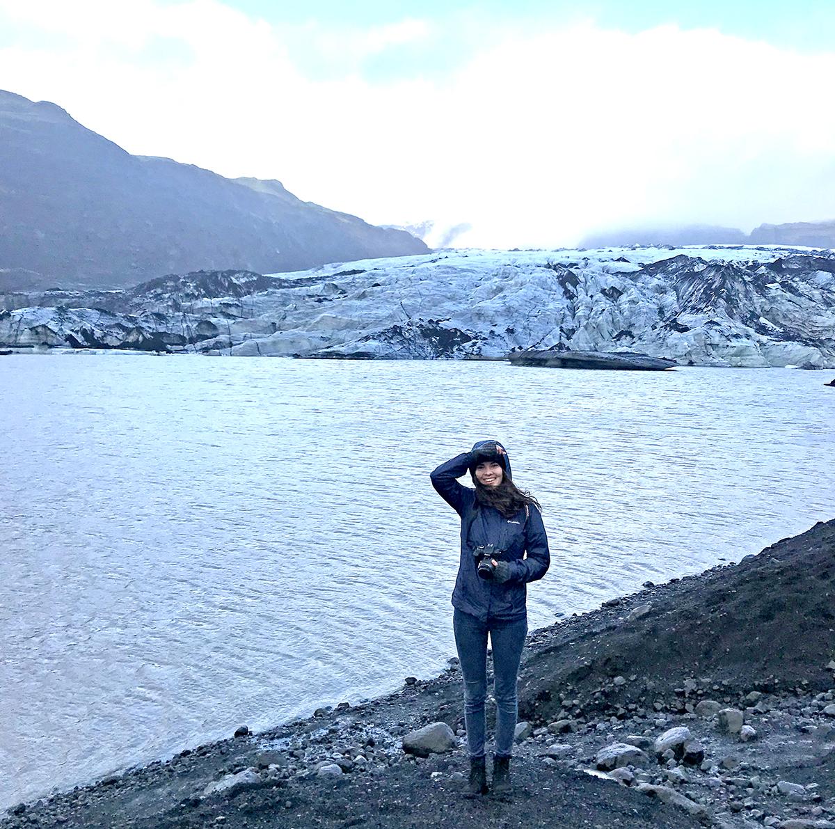 Myrdalshreppur ledynas.