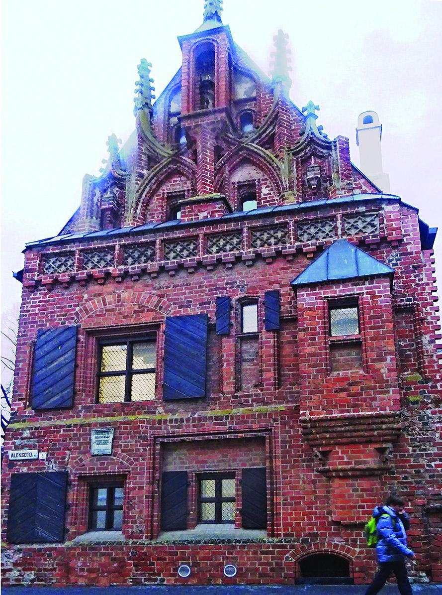 Istorinis Perkūno namas.