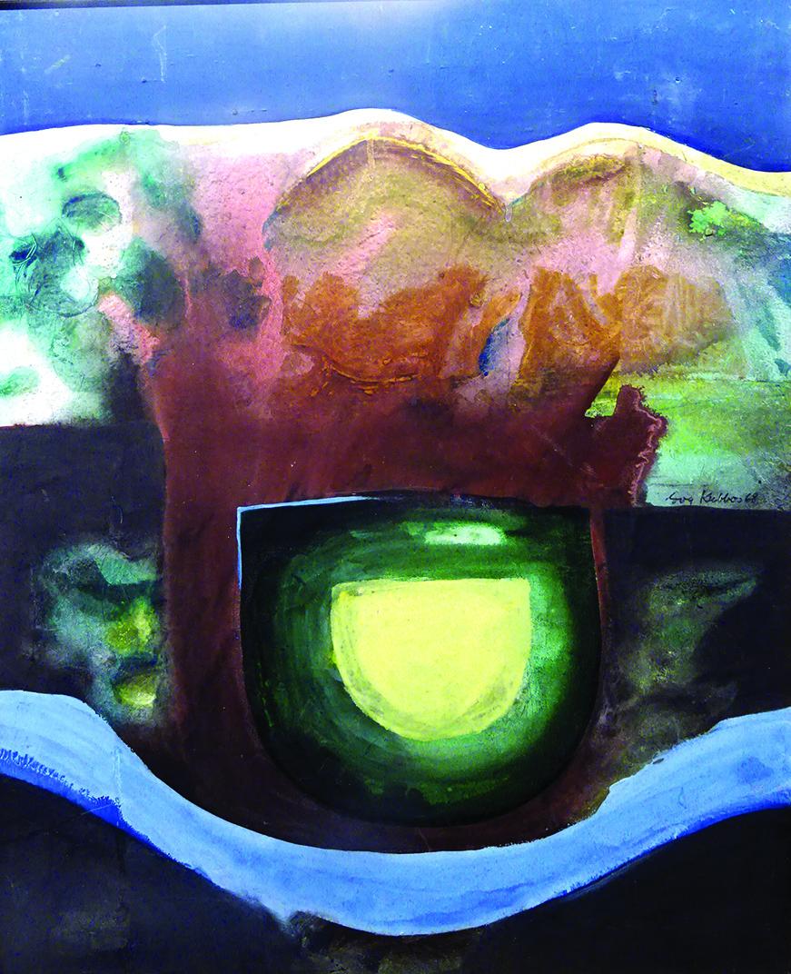 E. Kubbos darbai naujojoje parodoje.