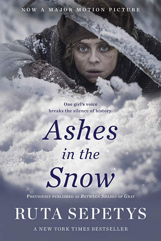 """Ashes in the Snow"" plakatas."