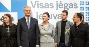 Iš k.: Sofija Armoškaitė, Gitanas Nausėda, Diana Nausėdienė, Liutauras Galinis ir Aistis Zabarauskas.