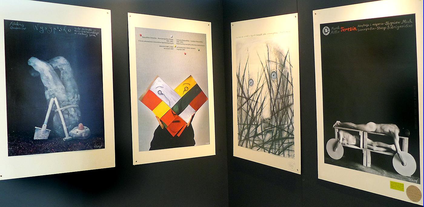 Stasio Eidrigevičiaus plakatų paroda.