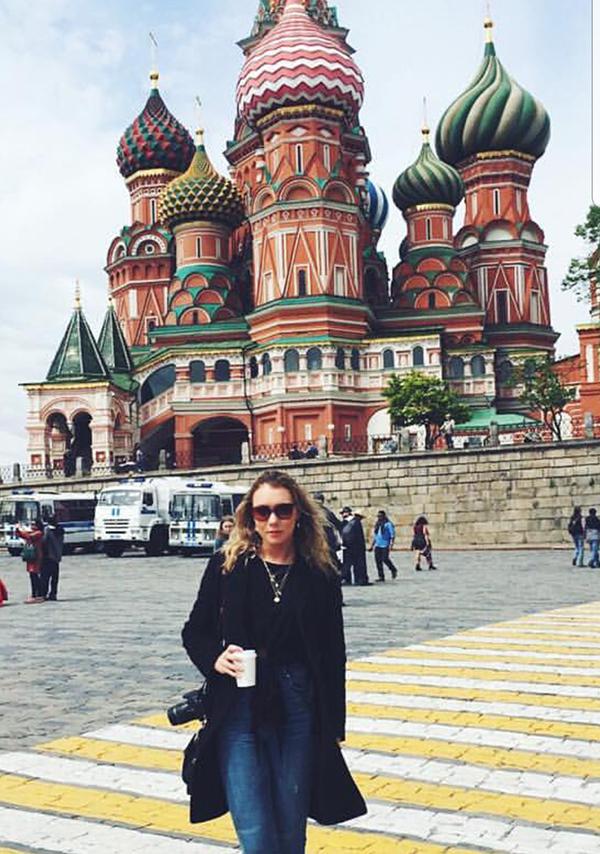 Maskvoje.
