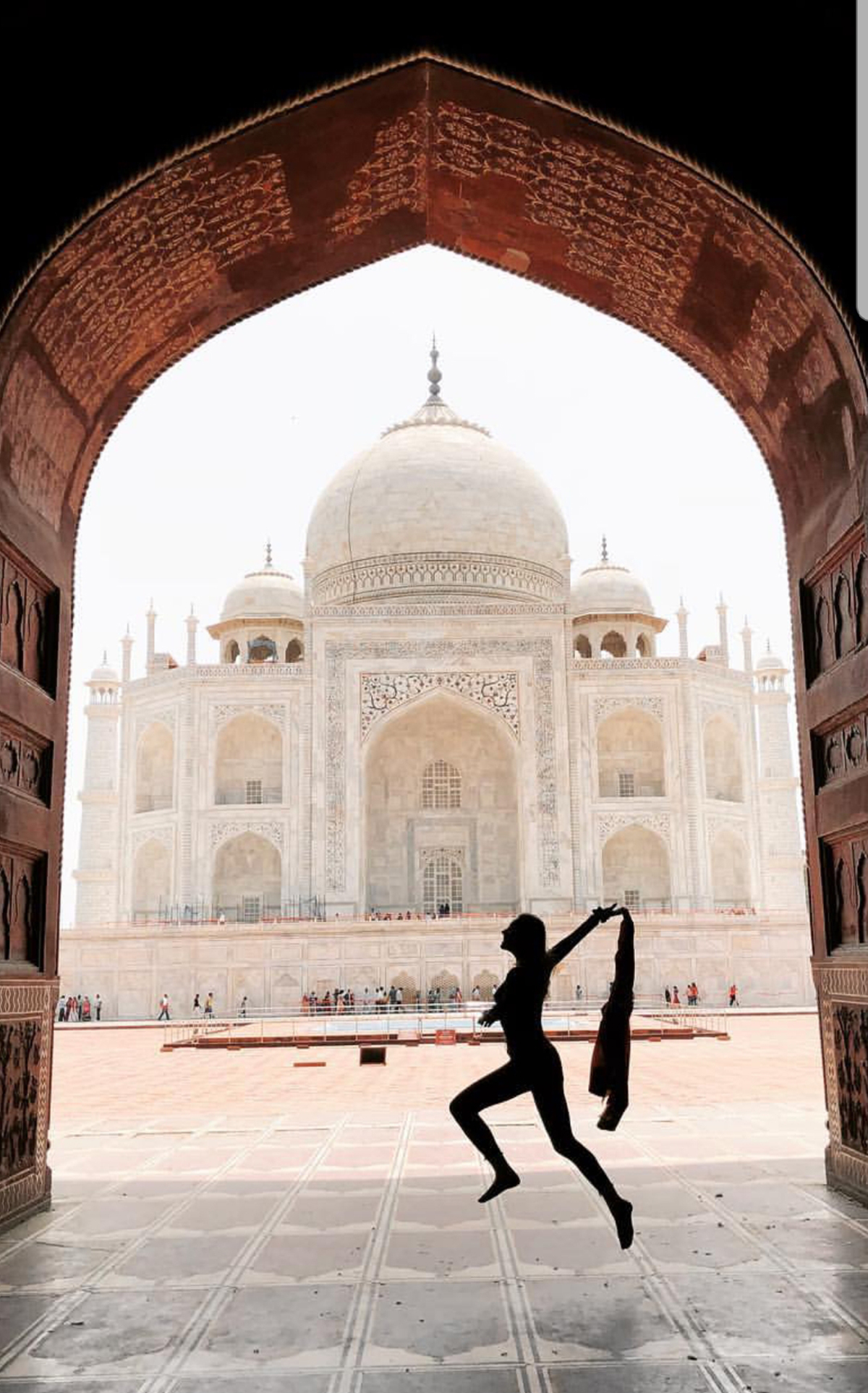 Taj Mahal Indijoje.