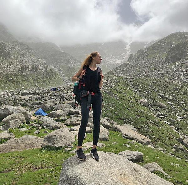 Kotryna neatsispiria kalnų magijai.