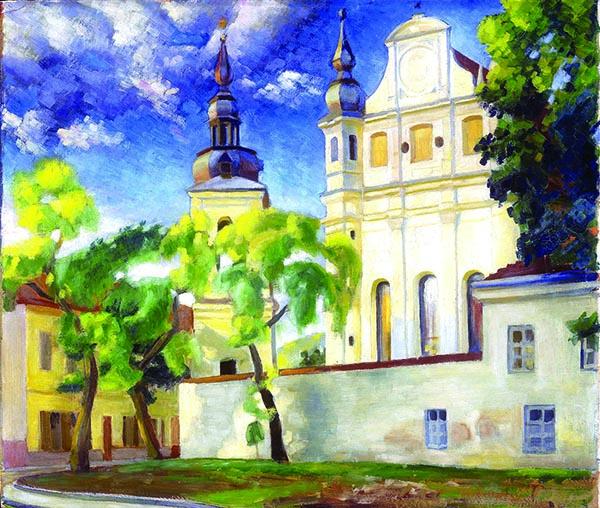 Vladas Drėma (1910–1995). Vilnius. Šv. Mykolo bažnyčia. 1944 m.